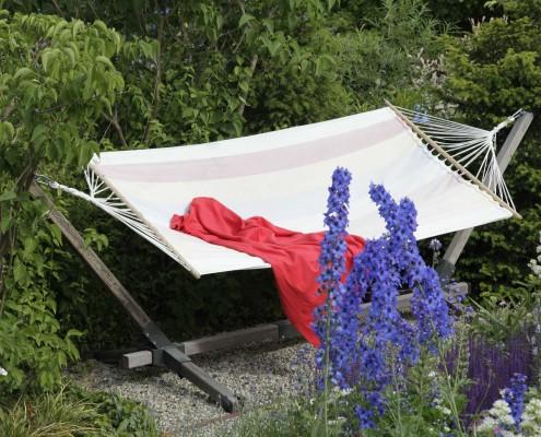 Hängematte im Garten