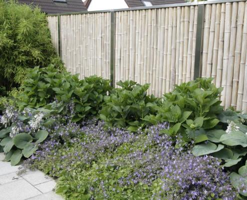 Zaun als Sichtschutz für den Garten