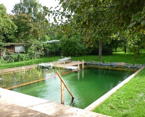 Designbeispiel von Swimmingteich