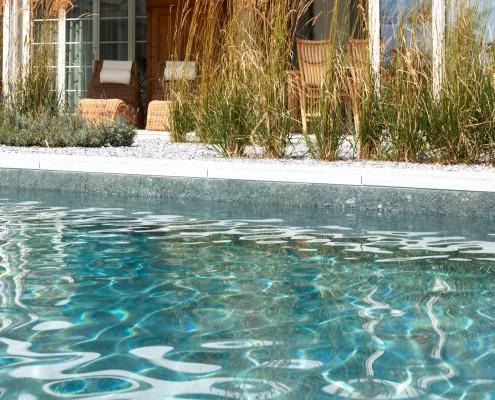Reines Wasser im Biotop Living-Pool
