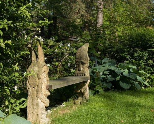 Feng-Shui Garten in der Potsdamer Waldsiedlung