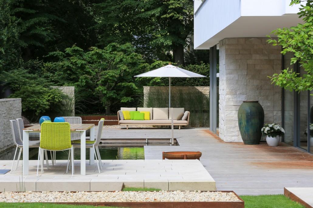 Potsdamer Gärten stadtvilla mit schwimmteich potsdamer gärten gärten für berlin