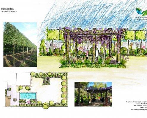 Gartenplanung Gartenvisualisierung