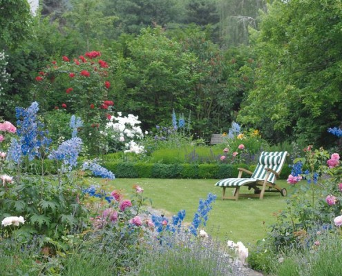 blühender Garten