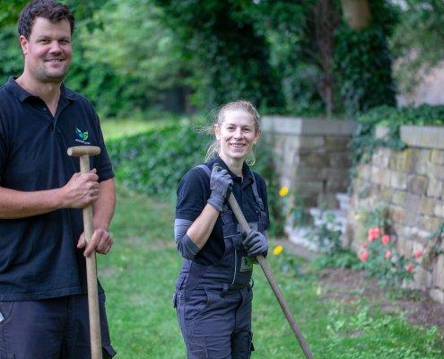 Team Gartenbau und Gartenpflege