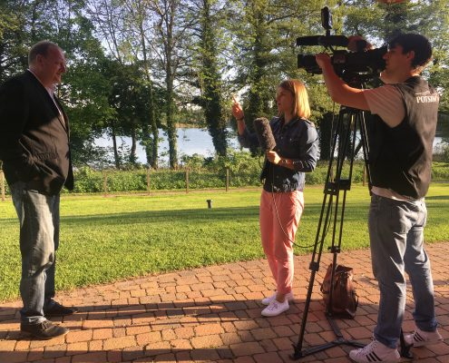 Interview mit Potsdam TV