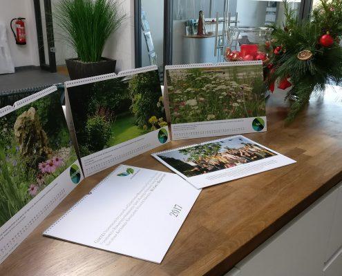 Potsdamer Garten gestaltung Wandkalender 2017