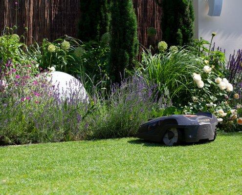 Stadtgarten, Gestaltung eines Schlauchgartens