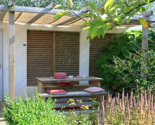 Garten Sitzgruppe Pergola